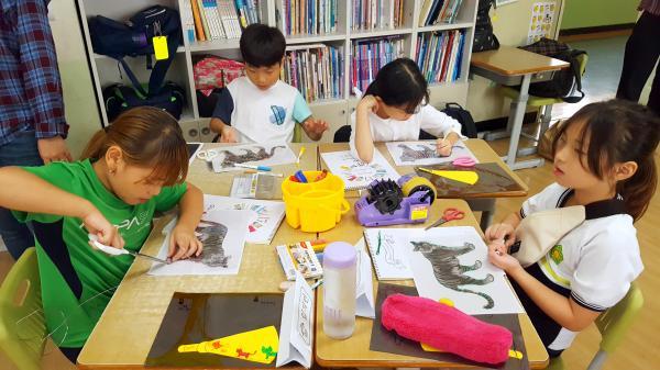 우리미술관 어린이 프로그램(서흥초등학교_3차_9.17.)