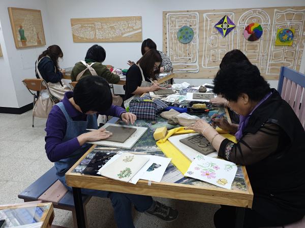 2019년 상반기 3주차 // 도판 작품 제작, 밑그림