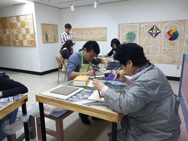 2019년 상반기 4주차 // 도판 양각조각 및 음각�
